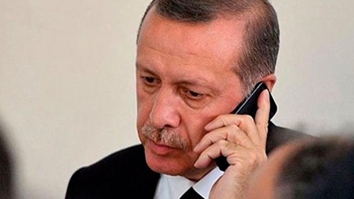 Erdoğan, KKTC Cumhurbaşkanı Tatar ile görüştü