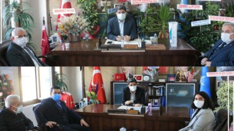 AKP'ye tebrik kuyruğu muhalefete ambargo