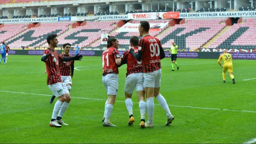 Eskişehirspor 34 maçlık hasrete son verdi