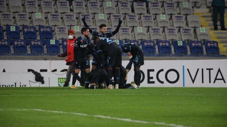 Başakşehir-Trabzonspor maçında muhteşem golle üç puan