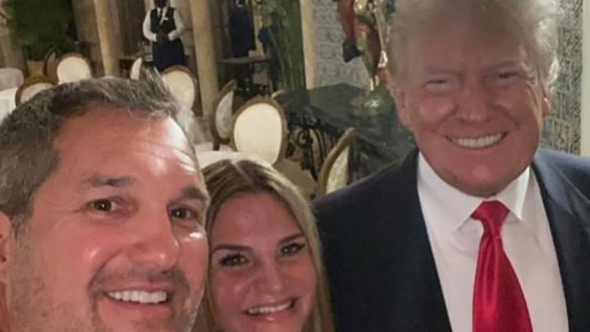 Trump çifti 1 ay sonra ortaya çıktı