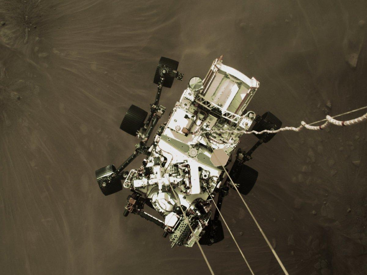 Perseverance, Mars'tan yeni fotoğraflar yayınladı 14