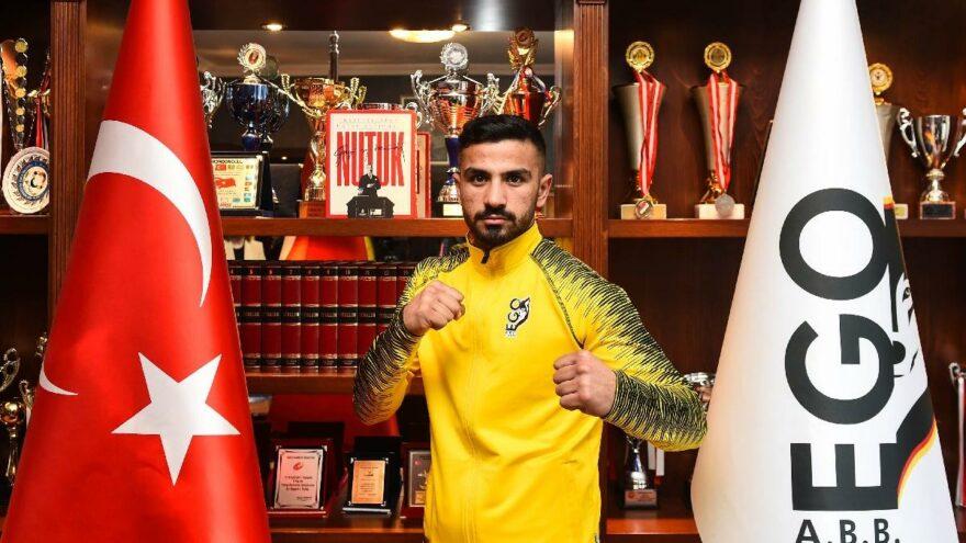 Ahmet Ertekin, EGO Spor'a imza attı! İnşaattan ringlere transfer oldu