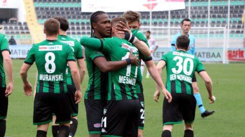 Denizlispor tek golle kazandı Gençlerbirliği'ni ateşe attı