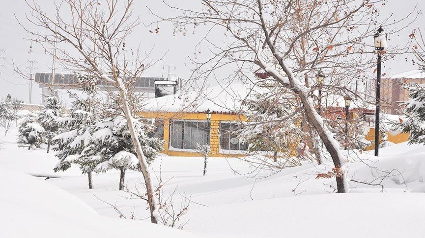 Bitlis'te kar kalınlığı 40 santime yükseldi: 125 köy yolu kapandı