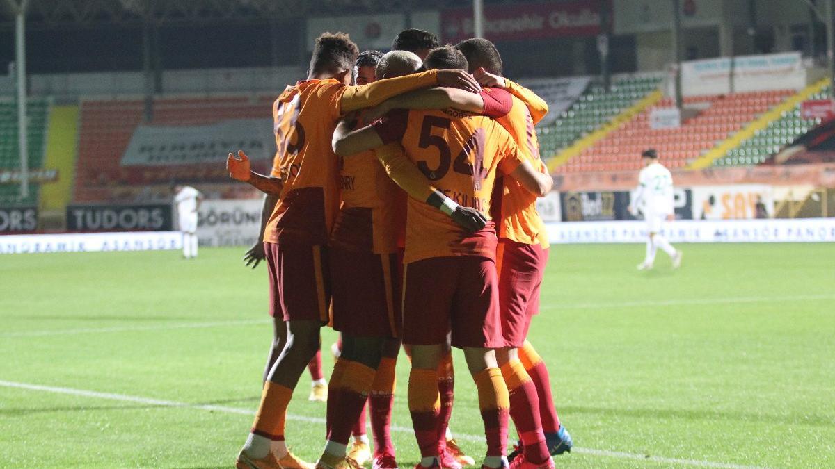 Galatasaray'ı Alanyaspor da durduramadı: 0-1