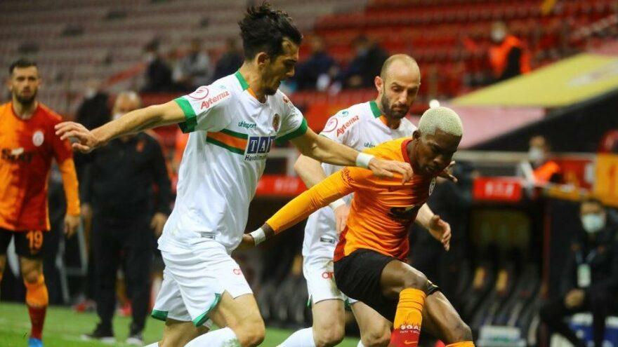 Lider Galatasaray, Alanyaspor deplasmanında