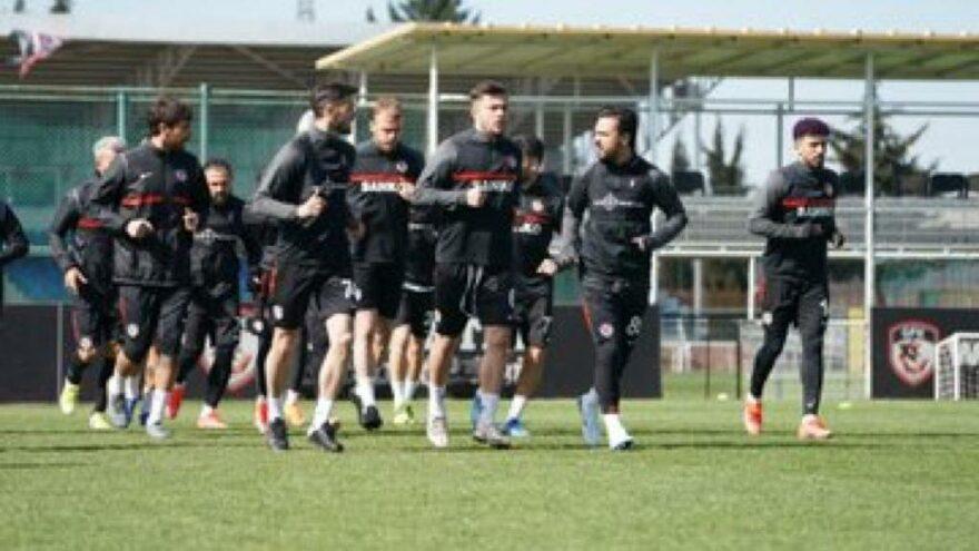 Gaziantep FK kötü gidişe son vermek istiyor