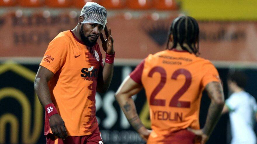 Galatasaray'da kırmızı kart itirazı! Luyindama'nın kaşı açıldı…