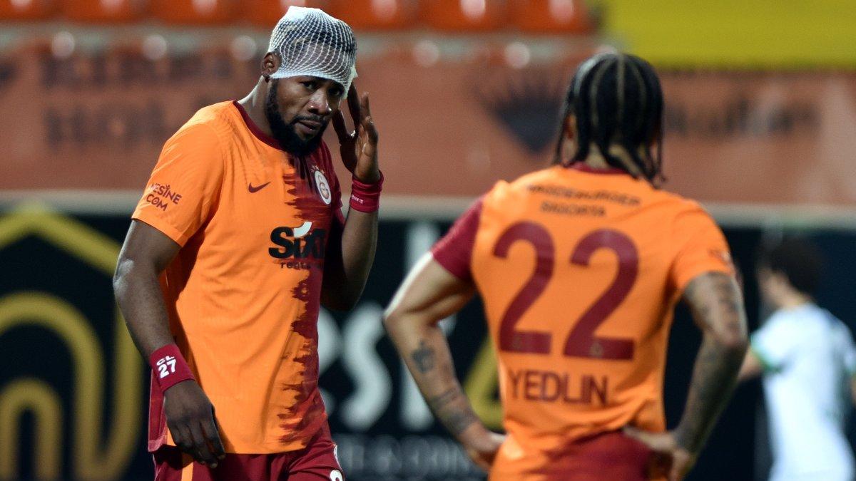 Galatasaray'da kırmızı kart itirazı! Luyindama'nın kaşı açıldı...