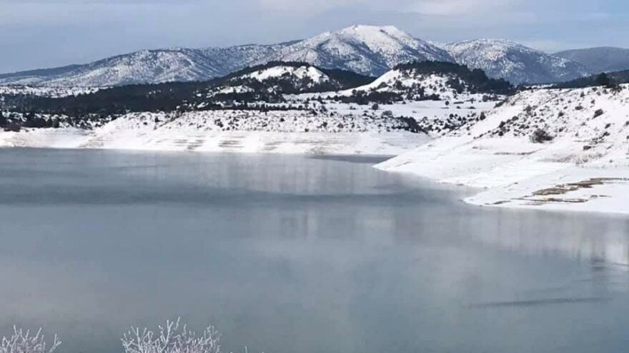 Çavdarhisar Barajı'nda su seviyesi yükseliyor