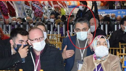 'Laz inadı virüs yayıyor' dedi, kongreye katıldı
