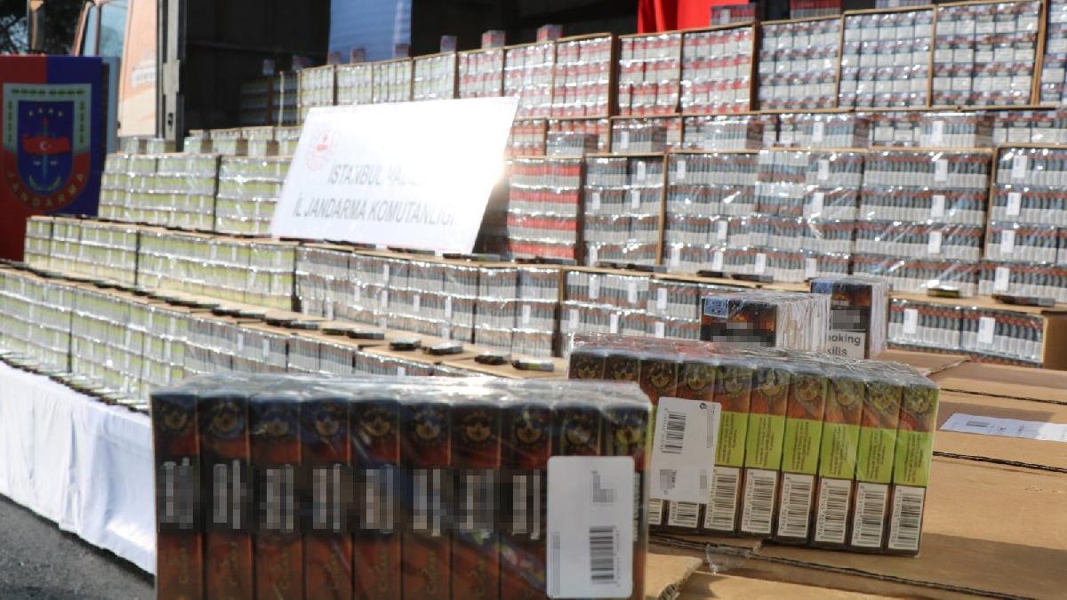 8 milyon lira değerinde kaçak puro ele geçirildi