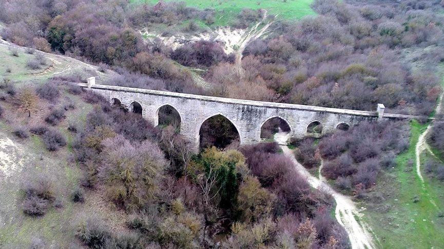 500 yıllık su kemerleri kaçak kazılarla tahrip edildi