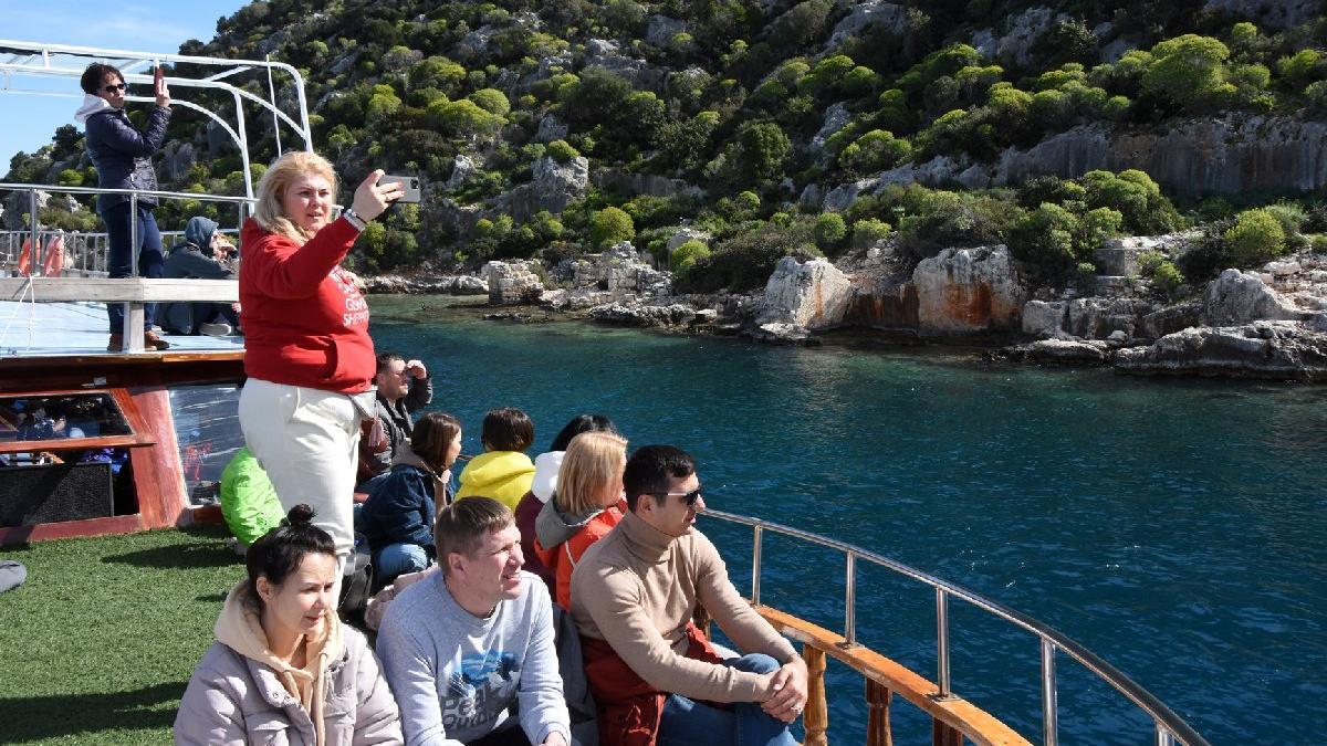 Ocakta turist sayısı yüzde 71 azaldı, Rusların payı arttı