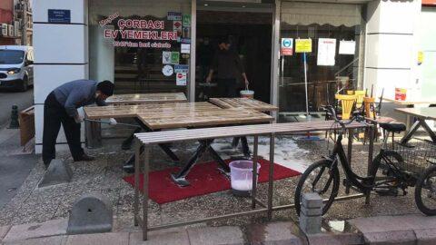 Lokantacı esnafı, 1 Mart'ta dükkanlarını açabilme umuduyla hazırlıklara başladı
