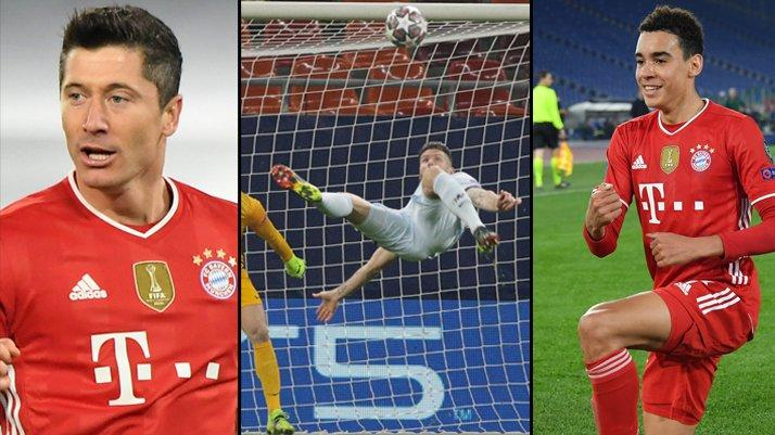Şampiyonlar Ligi'nde gecenin sonuçları! Bayern şov yaptı, Giroud imza attı...