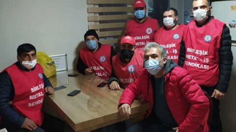 'Kod-29'dan işten atılan yedi işçi açlık grevine başladı