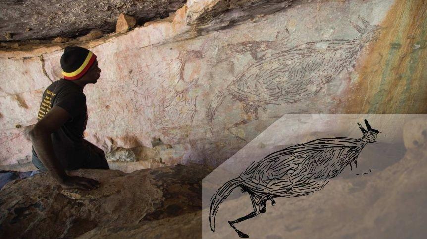 Avustralya'da en eski kaya çizimi bulundu