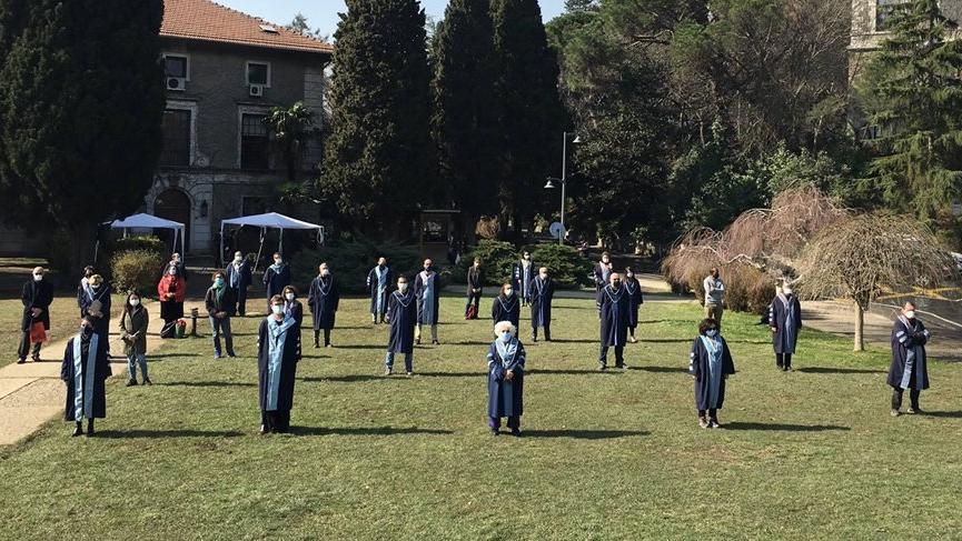 Boğaziçi Üniversitesi öğretim üyeleri rektör protestosuna devam etti