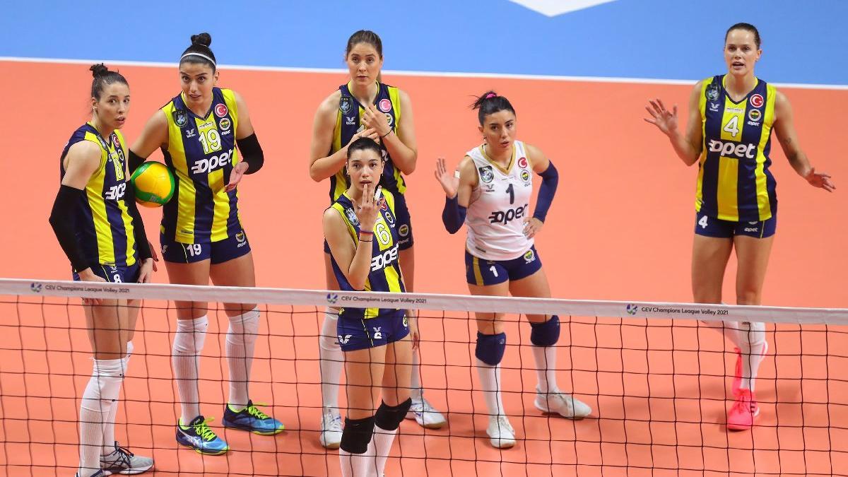 Fenerbahçe Opet, turu zora soktu: 1-3