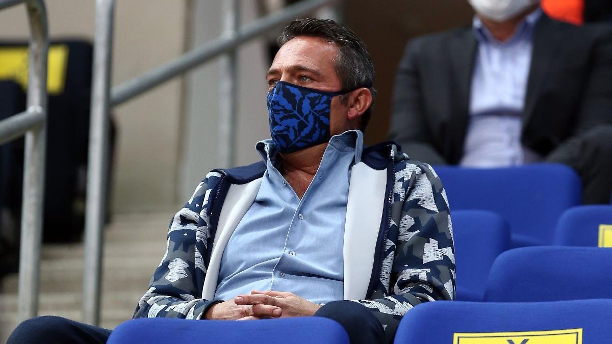 Fenerbahçe'de Ali Koç'tan takıma ve teknik ekibe tam destek