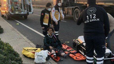 Kazada yaralanan annesini bırakıp kaçtı