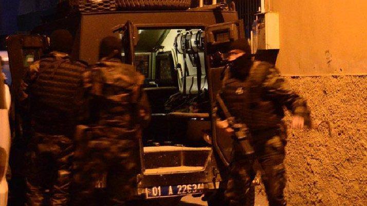 İstanbul merkezi 3 ilde terör operasyonu