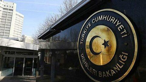 Dışişleri Bakanlığı'ndan terör açıklaması: Kınıyoruz