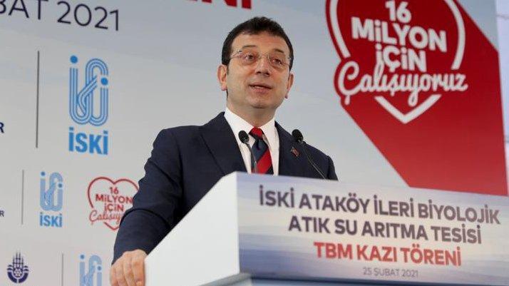 İmamoğlu'ndan Cumhurbaşkanı'na 'Kanal İstanbul' tepkisi