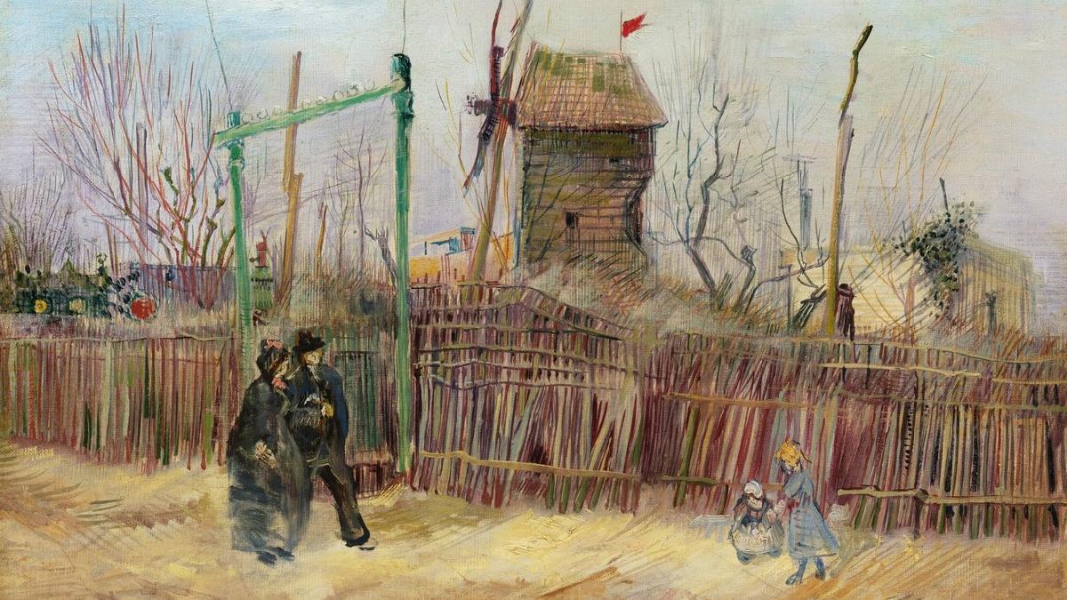 Van Gogh'un 'Scène de rue à Montmartre'si ilk kez açık artırmada: 70 milyon TL değer biçiliyor