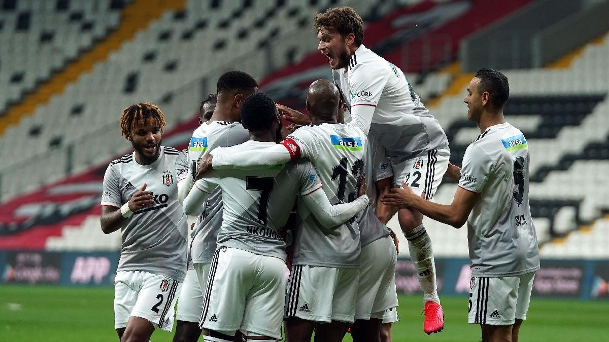 Beşiktaş Denizlispor'u rahat geçti, zirve takibini sürdürdü