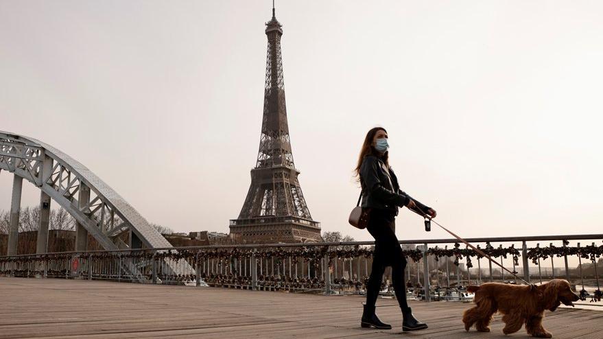 Paris'te 3 haftalık corona virüsü yasağı çağrısı