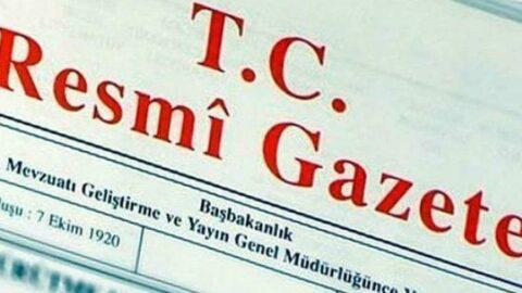 UYARSİS'in kurulması ve işletilmesine ilişkin yönetmelik Resmi Gazete'de