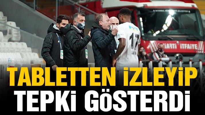 Sergen Yalçın'dan iptal edilen gole tepki!
