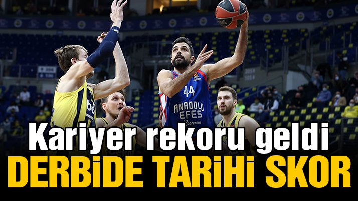 MAÇ SONUCU   Fenerbahçe Beko 74-106 Anadolu Efes   Euroleague