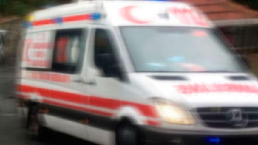 Motosikletiyle çarptığı köpek öldü, kendisi ağır yaralandı