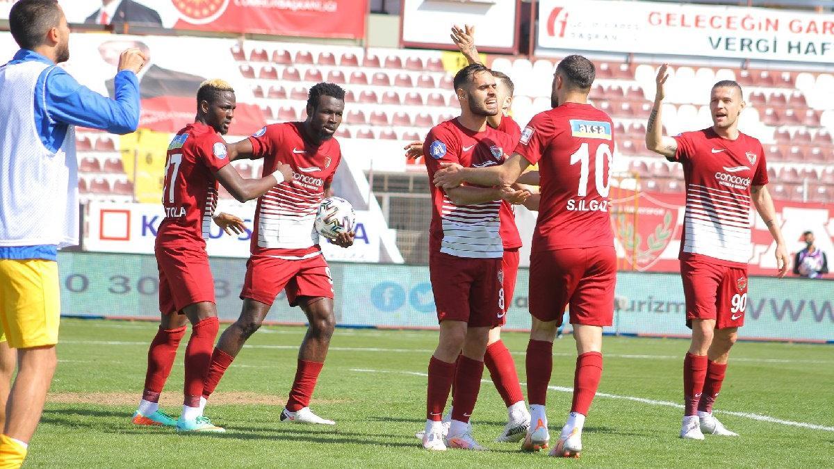 Hatayspor'un son kurbanı Ankaragücü: 4-1