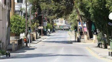 KKTC'de sokağa çıkma yasağı uzatıldı