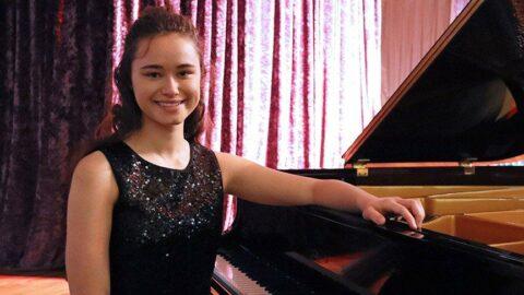 15 yaşındaki Nehir, Karlsruhe Müzik Üniversitesi'ne kabul edildi