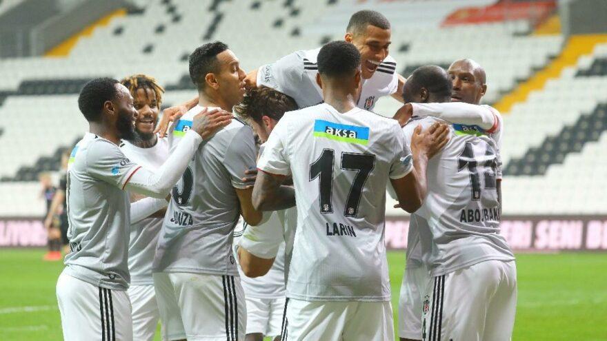 Beşiktaş hem atıyor, hem de yemiyor! Duvar ördüler…