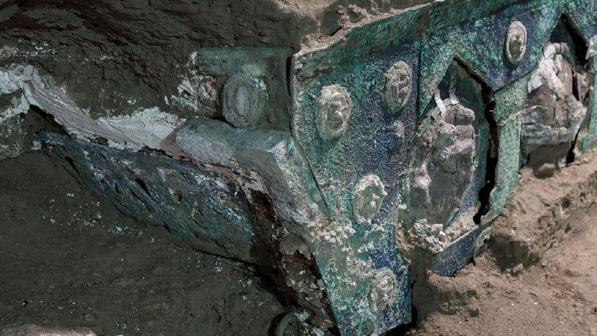 Pompeii'de müthiş keşif: Türünün ilk örneği