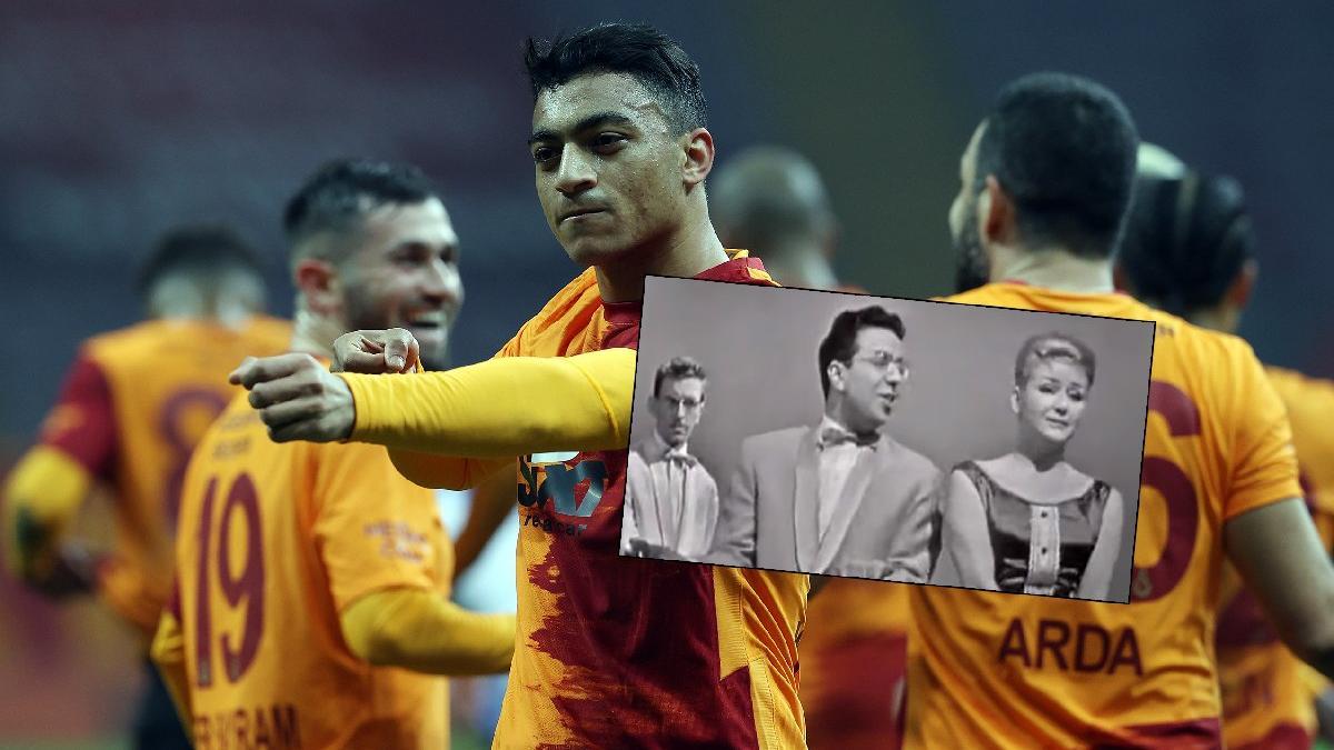 Galatasaraylı Mostafa Mohamed atıyor, statta 'Ya Mustafa' çalıyor!