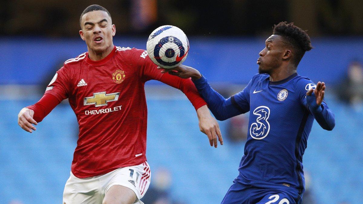Chelsea-Manchester United maçında olay yaratan karar