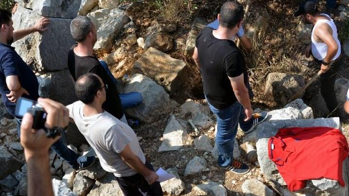 Genci öldürüp üzerine beton döken cani yakalandı