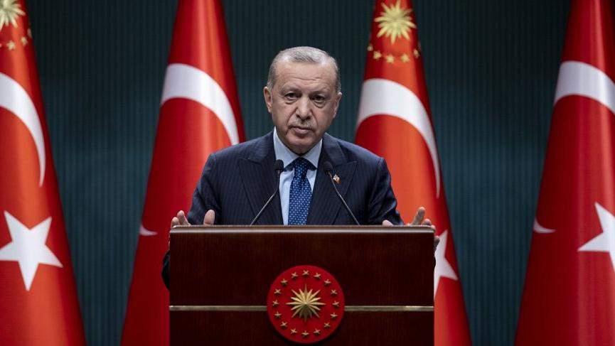 Cumhurbaşkanı Recep Tayyip Erdoğan: Bu tablodan çok ciddi rahatsızız, üç maymunu oynuyorlar