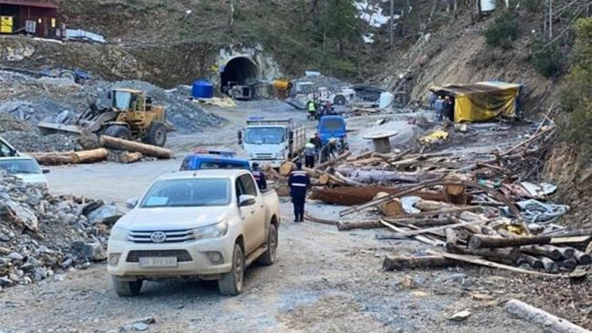 Maden faciası: 1 işçi göçük altında