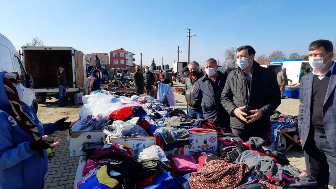 CHP'li vekil pazar ziyaretinde: AKP aya gideceğiz diyordu, vatandaş pazara gidemiyor