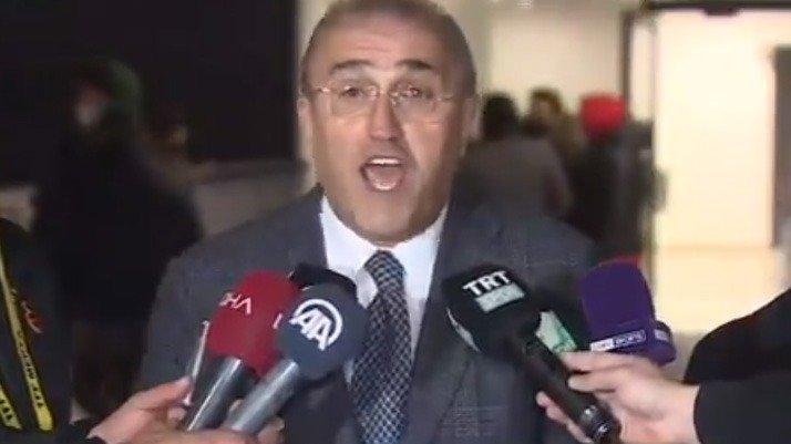 Abdurrahim Albayrak maç sonu çılgına döndü: Adalet istiyoruz adalet!