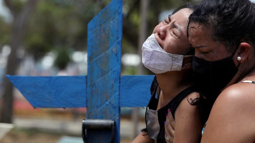 Brezilya'da Covid-19 ölüm sayısında rekor kırıldı
